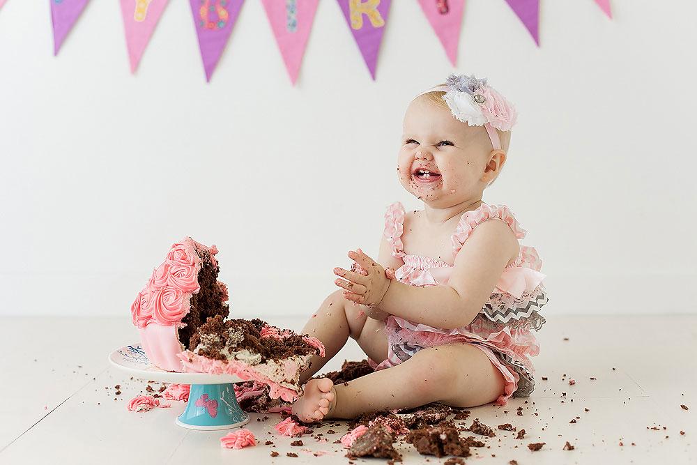 Cake Smash Photography Photo