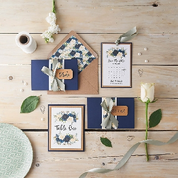 Handmade wedding stationery photography by Forever Creative