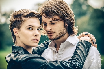 Portrait photography - couple portrait