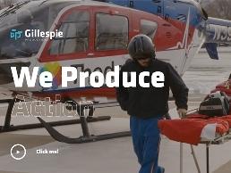 https://gillespieproductions.com/ website
